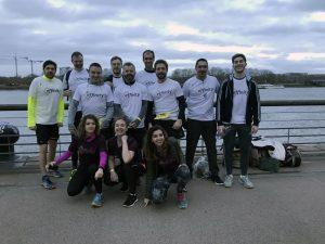 Marathon de Bordeaux en équipe Effinity