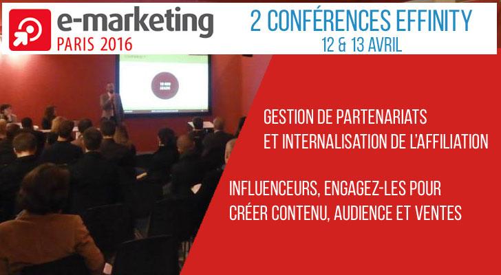 effinity emarketing conférence e-marketing