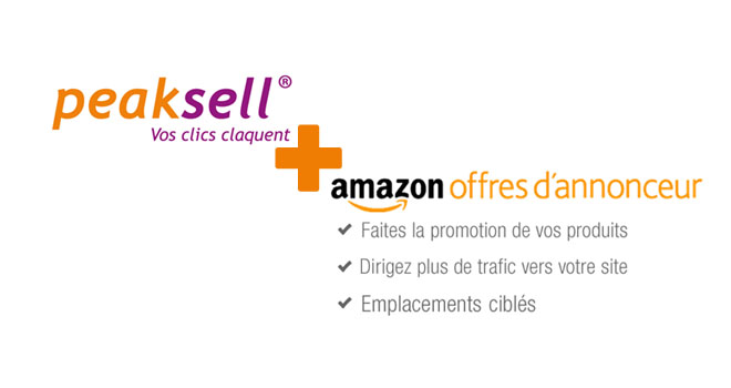 annonceur amazon peaksell