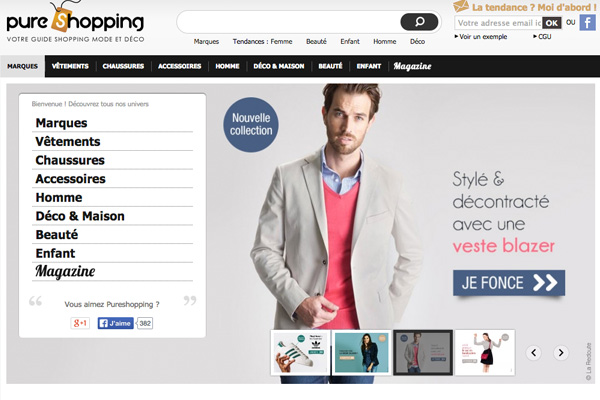 effinity guides achat pure shopping